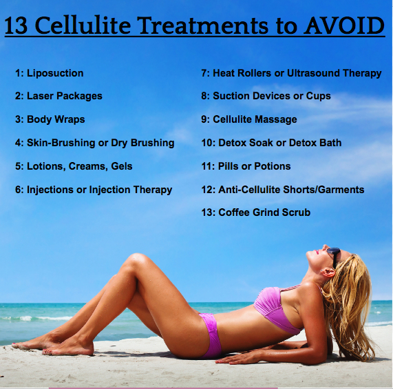 13 Worst Cellulite Treatments To Avoid The Cellulite Answerthe Cellulite Answer
