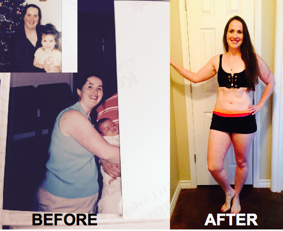 Kathleen Cellulite and Fat loss Before and After